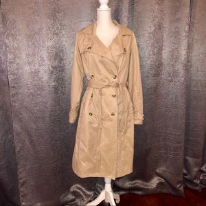 A new day trench coat